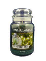 Yankee Candle Dokonalý stromek, 623 g - fantasticky vonící <b>svíčka ve skleněné dóze</b> se skleněným víčkem značky <b>Yankee Candle</b>, 1443134