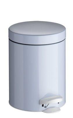 Meliconi Koš na odpadky 5 l PEDAL BIN bílá