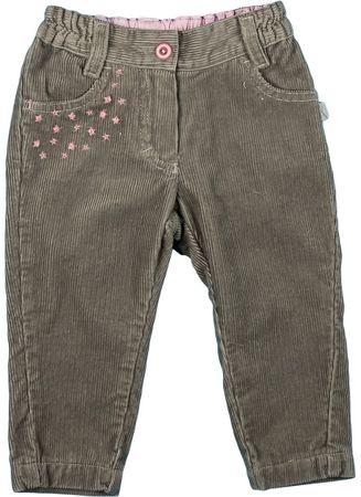 MMDadak Spodnie dziewczęce Unicorn 80 brązowy