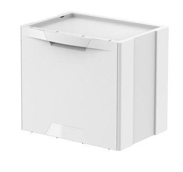 Meliconi Koš na třídění odpadu 22 l ECOCUBES bílá