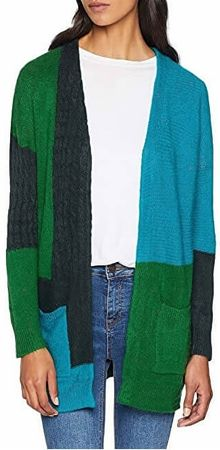 ONLY Damski Kardigan Salvador L / S Long Cardigan Knt Green Gables (rozmiar XS)