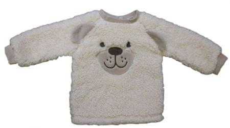 Carodel fantovska majica z motivom medvedka, 56, bež