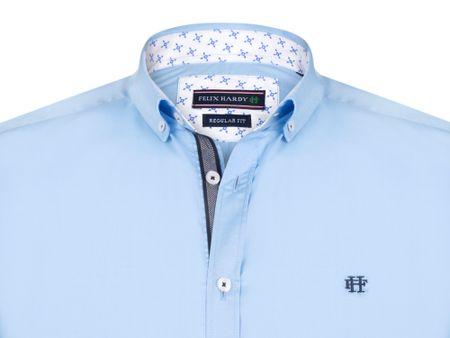 FELIX HARDY pánská košile M světle modrá  8a3d787c98