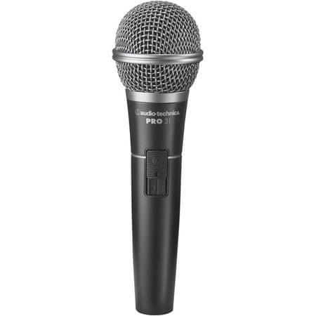 Audio-Technica PRO31QTR Dynamický mikrofon s vypínačem
