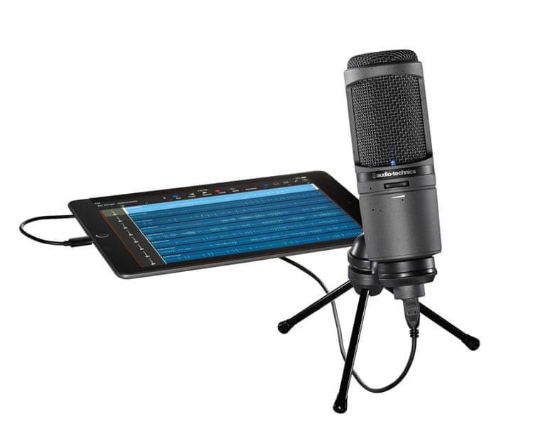 Audio-Technica AT2020USBi USB kondenzátorový mikrofon