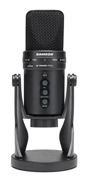 Samson G-Track Pro USB kondenzátorový mikrofon