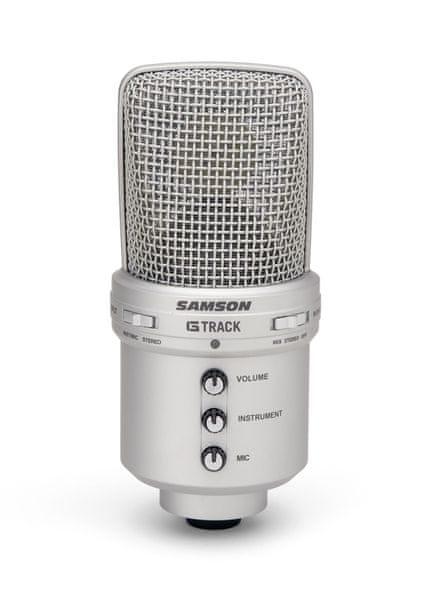 Samson G-Track USB kondenzátorový mikrofon