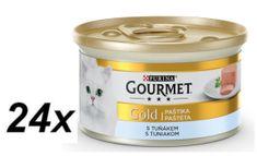 Gourmet Gold paštika s tuňákem 24 x 85 g