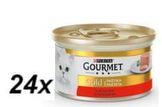 Gourmet Gold goveja pašteta 24 x 85 g