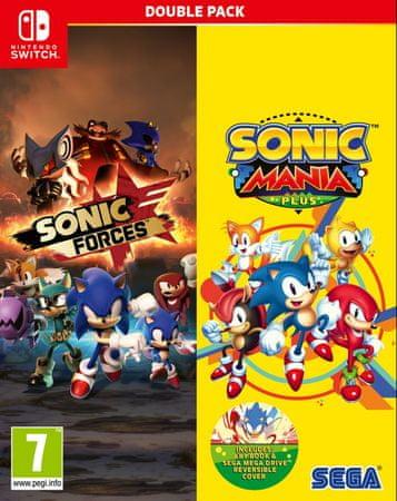 Sega igri Sonic Mania Plus + Sonic Forces - Double Pack (Switch) – datum izida 16.11.2018