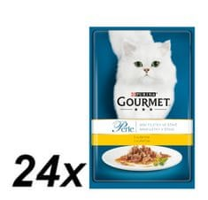 Gourmet Perle s piščančjim mesom 24 x 85 g