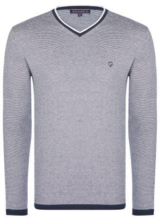 FELIX HARDY moški pulover, L, temno moder