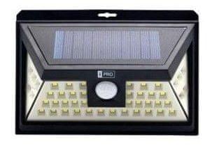 IQTECH iPRO LED solárne vonkajšie svetlo, 46 LED, senzor, bezdrôtové