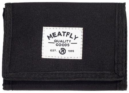 MEATFLY pánská černá peněženka Lance