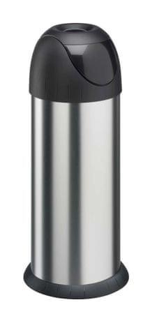 Meliconi BULLET szemeteskuka rozsdamentes acélból, 40 l