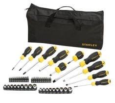 Stanley 48-delni set izvijačev+torba STHT0-70887