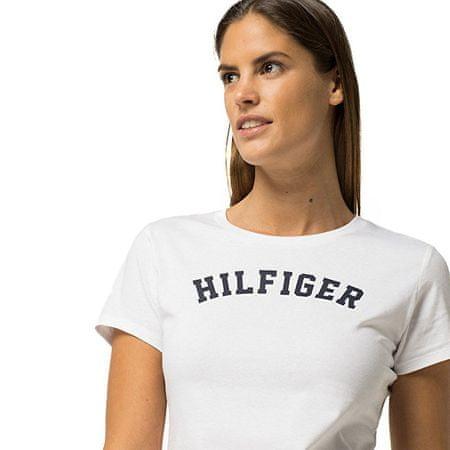 8c553c713da Dámské tričko s krátkým rukávem Cotton Iconic Logo SS Tee Print  UW0UW00091-100 White (