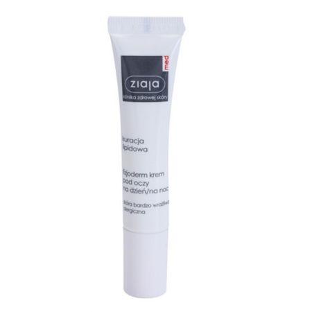 Ziaja Fyziologický krém na očné okolie pre veľmi citlivú a alergickú pleť Lipid Care 15 ml
