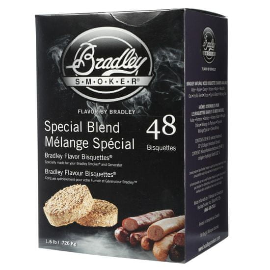 Bradley Smoker Special Blend 48 ks - Brikety udící