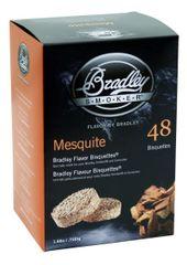 Bradley Smoker Mesquite 48 ks - Brikety udící