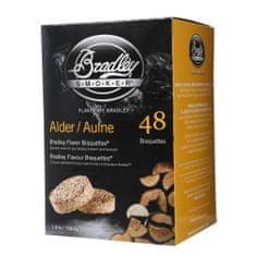 Bradley Smoker Olše 48 ks - Brikety udící