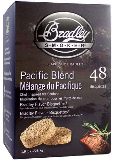 Bradley Smoker Pacific Blend 48 ks - Brikety udící