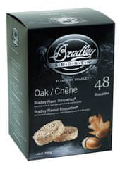 Bradley Smoker Dub 48 ks - Brikety udící