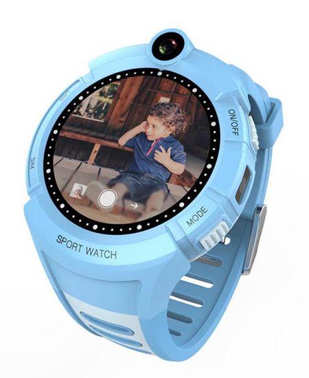 Carneo dětské smart hodinky s GPS GUARDKID+ BLUE