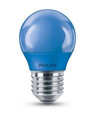 Philips LED colored P45 E27 BLUE 1SRT4