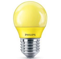 Philips LED colored P45 E27 YELLOW 1SRT4