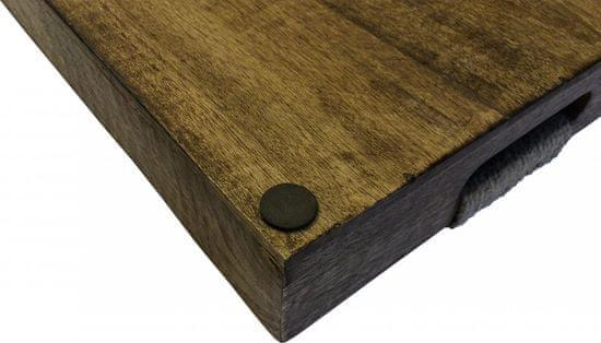 Koopman Sada 3 ks podnosov s uchami z mangového dreva
