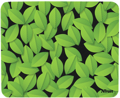 Trust Eco-friendly Mouse Pad, green leaves (21052)