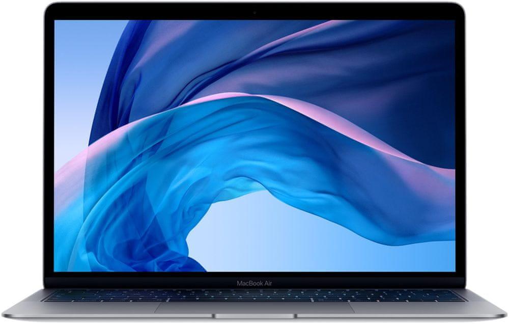 Apple MacBook Air 13, SK, šedá, 128 GB (MRE82SL/A)