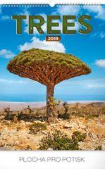 Nástěnný kalendář Stromy 2019