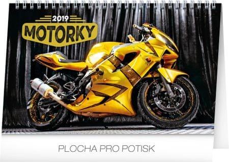 Stolní kalendář Motorky 2019
