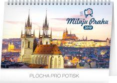 Stolní kalendář Miluju Prahu 2019