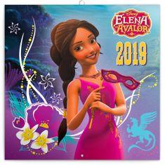 Poznámkový kalendář Elena z Avaloru 2019