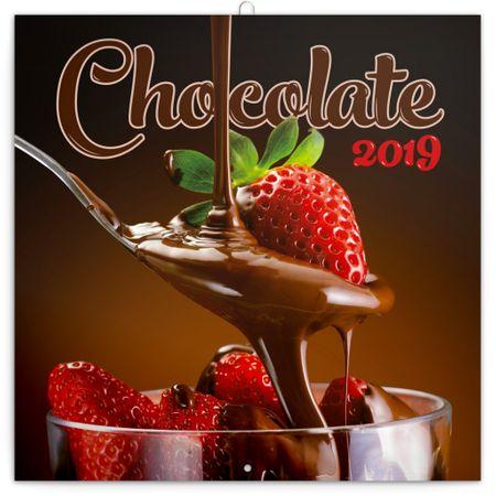 Poznámkový kalendář Čokoláda 2019