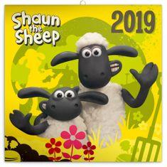 Poznámkový kalendář Ovečka Shaun 2019
