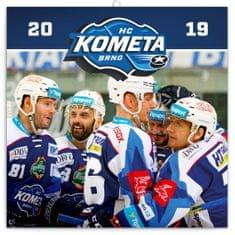Poznámkový kalendář HC Kometa Brno 2019