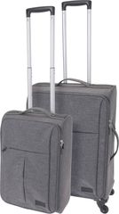 Marex Trade zestaw 2 walizek podróżnych, jasnoszary