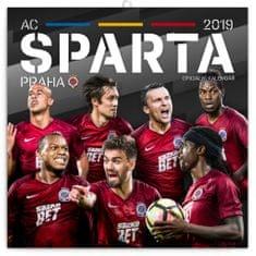 Poznámkový kalendář AC Sparta Praha 2019