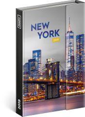 Týdenní magnetický diář New York 2019