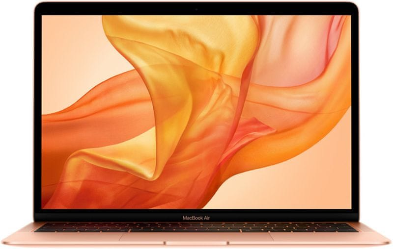 Apple MacBook Air 13 (2018) zlatá, 128 GB (MREE2CZ/A)