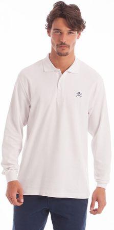 Polo Club C.H.A galléros férfi póló S fehér