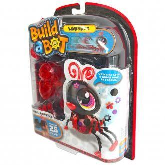 Build a bot, robo žuželka pikapolonica
