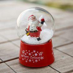 Kaemingk Sněžítko Santa s lucernou