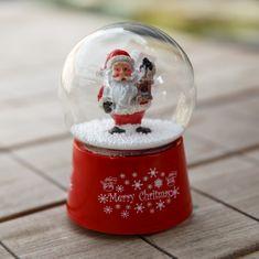 Kaemingk Sněžítko Santa s ptačí budkou