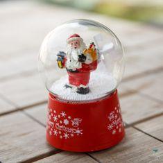 Kaemingk Sněžítko Santa s pytlem a lucernou