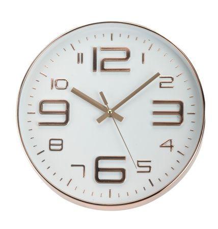 Marex Trade zegar ścienny 30 cm, nieregularne liczby